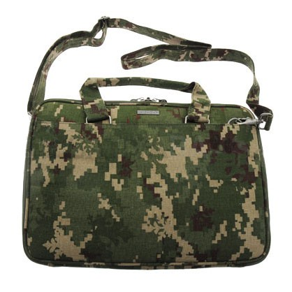 """Indica Hemp 17"""" Laptop Case with Handles & Strap (canno)"""