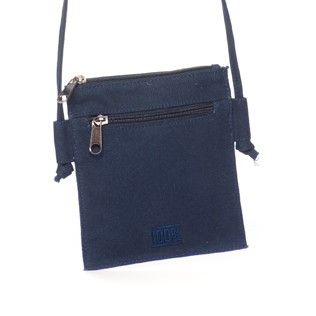 Mini shoulder bag (navy)