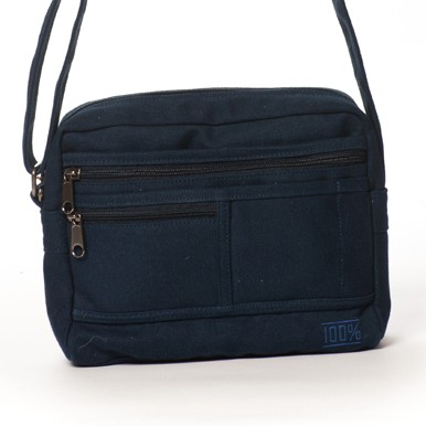 Multipocket Cross Body Bag (navy)