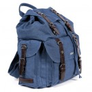 Deluxe Hemp Rucksack (steel blue)