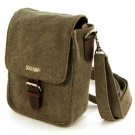 Medium Hemp Buckle Bag (khaki)