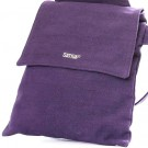 Cross Over Shoulder Hemp Bag (plum)