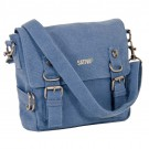 Small Hemp Shoulder Bag (steel blue)